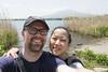 Mount Fuji from Oishi Park (roboppy) Tags: japan yamanashi tour kkday oishipark lakekawaguchiko park lake mtfuji mountfuji selfie kare robyn mountain