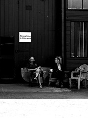 No Parking (Ranchu Creative) Tags: streetphoto streetshooter candidphoto blackandwhite streetphotography microfourthirds