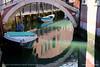 Boats in the ring (srkirad) Tags: ring reflection bridge travel venice italy calm sea canal street walls brick sunny shadows