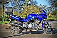 Yamaha XJ900s Diversion. (BIKEPILOT, Thx for + 4,000,000 views) Tags: photoshop photoshopped yamaha xj900s diversion blue motorcycle motorbike bike transport vehicle sandhurst berkshire uk england britain