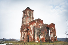 Trinity Church (Kathlyn.s) Tags: t history church canoneos5d canon carlzeiss distagont2828 architecture building ruins baroque belarus