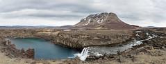 þjófafoss_Panorama (alfheidur magnus) Tags: álfheiður© þjófafoss þjórsá búrfell ísland mars 2018 foss waterfall iceland march vetur winter