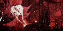 Fiction (S. Dolly) Tags: red dolly fantasy wonderland clock virtual secondlife sl avatar screenshot