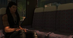 time to travel (xXDjMaRCoXx BLOGGER WITH PASSION) Tags: dj time travel bus sl secondlife selfie