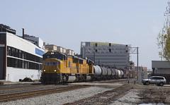 Saturday MWSRV (imartin92) Tags: emeryville california unionpacific railroad railway freight train emd sd70m locomotive