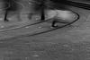 EPMG Urban Transport April 2018 -14 (Philip Gillespie) Tags: epmg edinburgh scotland people transport crowds men women children kids boys girls buses cars pavement roads lines marking long exposure mono monochrome colour color burgandy blue yellow orange green street crossing movement fast feet legs walking canon 5dsr 2018 april spring urban city shopping markings