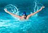 The Swimmer (tslclick) Tags: strobists alienbee seniorportraitcreativeswim