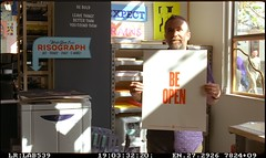 Be Open (scottboms) Tags: analogresearchlab facebook arl film 35mm risograph impossiblefilm