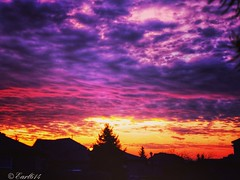 The beauty of a spring sunrise! (Edale614) Tags: sunrise dawn naturelovers nature columbus ohio cloudy sunsetsaroundtheworld colorful sky skyporn