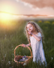 Spring Flowers (Sonya Adcock Photography) Tags: girl child kid photography childphotography light evening glow warm family painterly portrait ray poetry poetic story nikon nikond700 nikkor nikkor105mmdc childhood fineart fineartphotography art sonyaadcockphotography