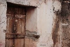 from inside (christinehag) Tags: door porte house maison ruins ruines intérieur