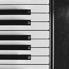 Open Keys (Thomas Listl) Tags: thomaslistl blackandwhite noiretblanc biancoenegro film analog filmphotography meinfilmlab minoltax700 kodak trix push2stops piano grandpiano keys square lines geometry graphical music jazz