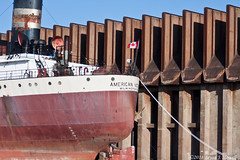 Maple Leaf (tubaman21) Tags: superior wisconsin superiorwisconsin np ore dock northern pacific northernpacific americanvictory algoma central algomacentral