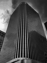 Skyscraper, Ottawa, Ontario, Canada (duaneschermerhorn) Tags: architecture building skyscraper structure highrise architect modern contemporary modernarchitecture contemporaryarchitecture black white blackandwhite blackwhite bw noire noir blanc blanco schwartz weiss
