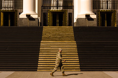 Los Milicos (marco_catullo) Tags: buenos aires street militar soldier soldado ministerio lovely city argentina lovelycity