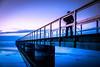 By the beach (Maria Eklind) Tags: solnedgång ribban öresund beach ribersborg sunset strand bridge himmel sweden brygga sunsetlight ocean sky water malmö skånelän sverige se