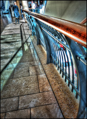 Shadows and curves (Stephen Braund) Tags: birmingham bullring hdr architecture shadow leadinglines