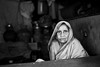 Old Woman at the Howrah Flower Market (anthonypond) Tags: flowermarket 50mmsummilux kolkata bw leicam10 calcutta india