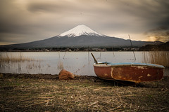 Lonely boat (Bauer Florian) Tags: boat water fuji wasser landscape nature natur lzb long time exposure landschaft japan reisen