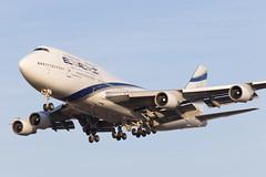 El Al Israel Airlines | Boeing 747-400 | 4X-ELB | 09.04.2018 | Warsaw - Okecie (Maciej Deliś) Tags: el al israel airlines boeing 747400 b747 b744 4xelb warsaw chopin airport