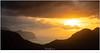 Zonsondergang (nandOOnline) Tags: atlantischeoceaan eilanden faroe faroer fã¸royar landschap oceaan zonsondergang klakkur kalsoy zon bergen