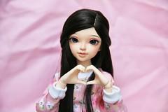 [May of Dolls 30/31] - Smile ♥ (SunShineRu) Tags: minifee mnf sarang sarang14 sarang2014 14 2014 event head fairyland doll ball jointed dolls may smile pink