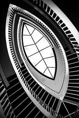 An Invitation (Thomas Hawk) Tags: america chicago cookcounty illinois josefpaulkleihues kleihues mca museum museumofcontemporaryartchicago usa unitedstates unitedstatesofamerica architecture artmuseum bw staircase stairs contemporary art fav10 fav25 fav50 fav100