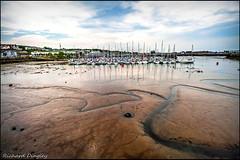 Low Tide Howth (dickdingley) Tags: fishingvillage howth sailboats dublin ireland water marina seaside