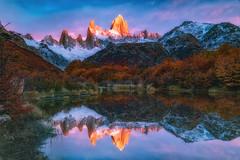 Cerro Fitz Roy (Valter Patrial) Tags: montefitzroy fitz roy sunrise mountains mountain landscapes land patagonia ar elchaltén santacruzprovince parquenacionallosglaciares