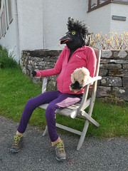 Scary Crow (Karls Kamera) Tags: scarecrow dean ullock crow