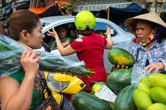 Hanoi Streets (Jeff Williams 03) Tags: street photography vendor fruit flowers motorbike hanoi vietnam nikon 35mm