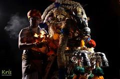 Tamil festival in Little India, George Town (Malaysia) (|kris|) Tags: tamil festival georgetown penangisland malaysia asia evening dark night religious littleindia srimahamariamman temple horse december kuthiraivahanam horsecar celebration procession thaipusam queenstreet