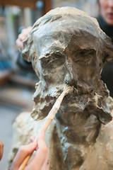 Atelier Sculptures (2018) (Institut national du patrimoine) Tags: sculptures gelaqueu geldargile nettoyage plâtre