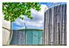 Guarding the Tanks (Timothy Valentine) Tags: 0418 friday vacation fence 2018 bridgetown saintmichael barbados bb