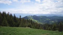 Panorama de la refugiul Grind