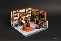 Enchantments, potions and magic! (Cesbrick) Tags: lego wizard room laboratory potions enchantments cesbrick magic medieval