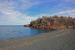 Black Beach . . . (doc030395) Tags: lakesuperior northshore silverbay minnesota blackbeach highway61 mensingdrive