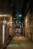 back alley (Steve only) Tags: epson rd1 cosina voigtlander cv nokton 50mm f11 5011 rangefinder rf snap city night backalley