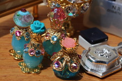 Miniature perfume bottles (Isabelle from Paris) Tags: miniature perfume bottles isabelleparisjewels
