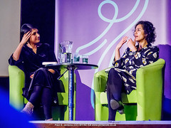 P3071265 Angela Saini - Humanists UK 2018 Franklin Lecture at the Camden Centre, London (Paul S Jenkins Photography) Tags: iwd2018 angelasaini camdencentre franklinlecture humanistsuk internationalwomensday samiraahmedfranklinlecture london england unitedkingdom gb