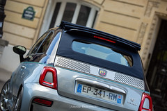 Abarth 695 Rivale 175th Anniversary (Antoine Dellenbach Photography) Tags: worldcars car race circuit motorsport eos automotive automobiles automobile sport course lightroom coche photography photographie vintage historic auto canon 5d 5d3 5dmarkiii rally fiat 500 abarth riva rivale 695 italiancar hothatch sigma 35mm