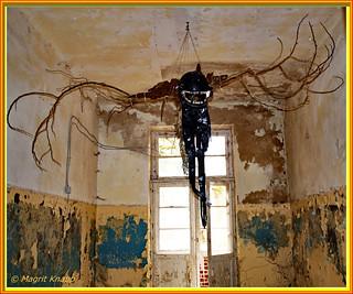 Gruselgespenst im Schloss - Ghost of horror in the castle