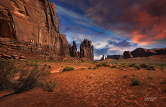 consecrated (cherryspicks (off)) Tags: landscape desert monumentvalley usa navajo