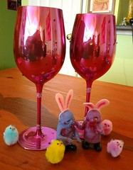 Happy Easter! (Georgie_grrl) Tags: zombies bunnies chicks happyeaster cheers holidays funny brunch prosecco