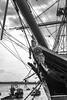 HMS Warrior (David Hardy Jr) Tags: uk portsmouthuk hmswarrior ship sealife blackandwhite nikon d7200