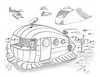 Cootay 18 (rod1691) Tags: myart art sketchbook bw scifi grey concept custom car retro space hotrod drawing pencil h2 hb original story fantasy funny tale automotive illistration greyscale moonpies sketch sexy
