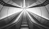Exit (Toukensmash) Tags: exit vienna wien ubahn metro station light bright uo going escalator underground dark u3 herrengasse inner city minimalism wide angle pentax k1 rokinon 14mm long exposure