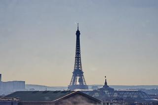597 Paris en Février 2018 - la Tour Eiffel, le Grand Palais, l'église de la Madeleine