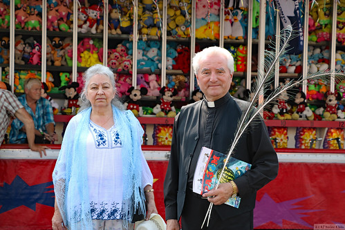 Faces of Toronto: Ukrainian Lady and Priest