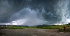 Amazing shelf cloud (Matteo Tidili Meteorologist) Tags: sardegna sardinia isili thunderstorm temporale storm stormchasing stormchaser landscape paesaggio shelf cloud cumulonembo